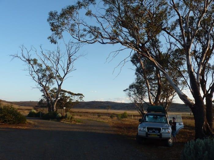 Camping At Fraser Range Station WA