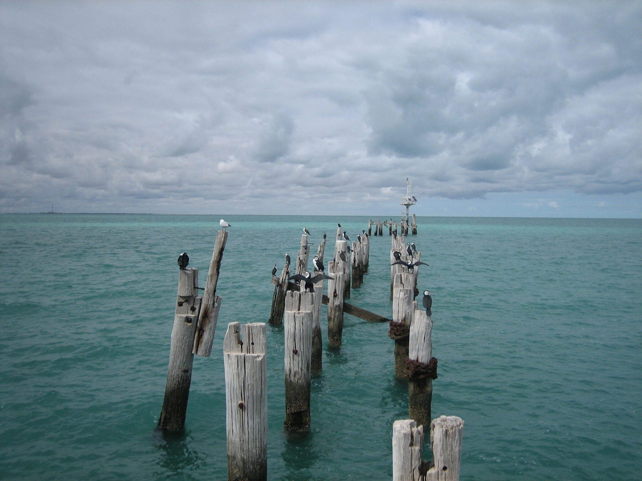 Port Germain Jetty Spencer Gulf South Australia