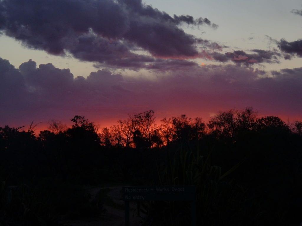 Sunset, Mungo National Park