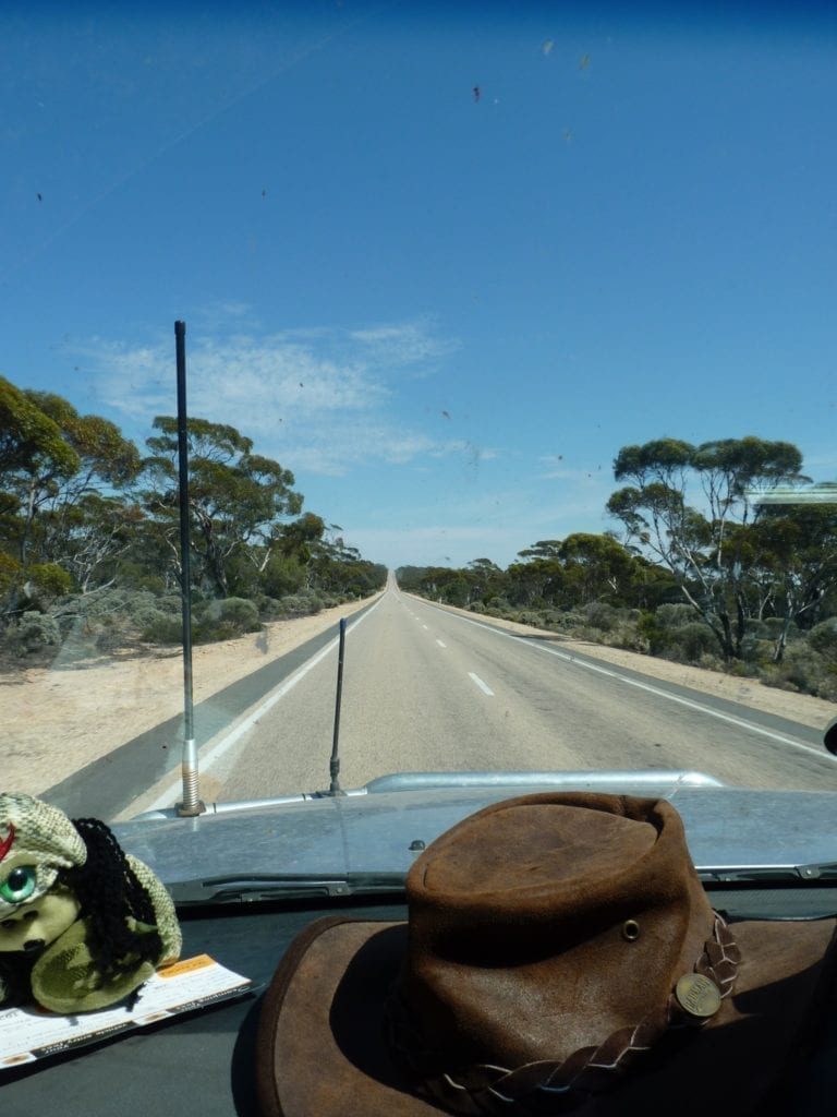 Yalata Driving West South Australia