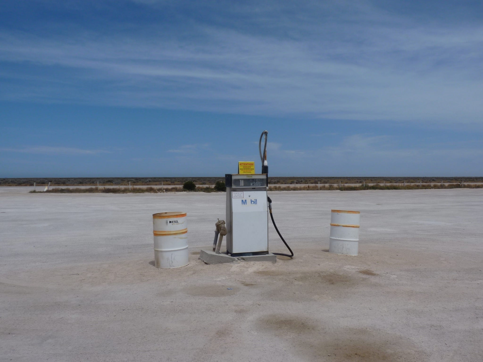 Fuel Pump Nullarbor Roadhouse South Australia