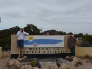 Welcome To Western Australia Sign Border Village South Australia