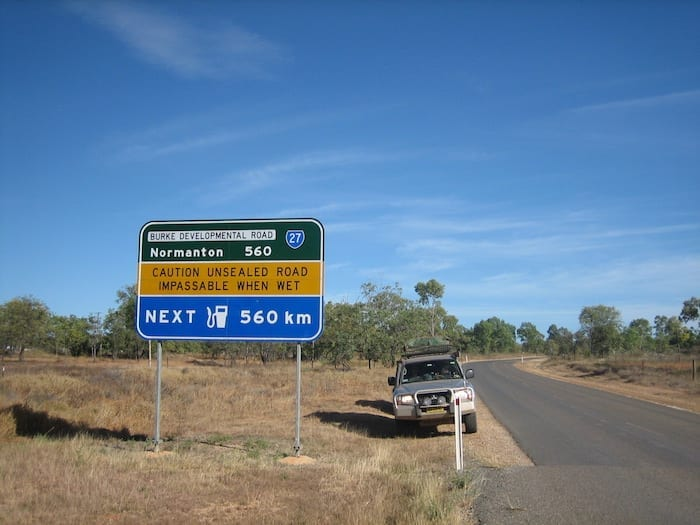 Burke Developmental Road Channel Country Queensland