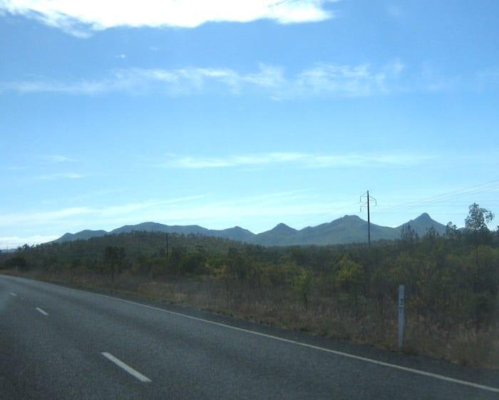 Great Dividing Range, Burke Developmental Road Channel Country Queensland