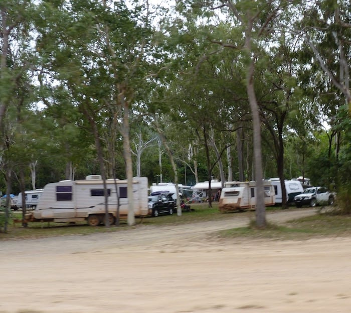 Crowded Rest Area Between Mareeba And Cooktown.JPG