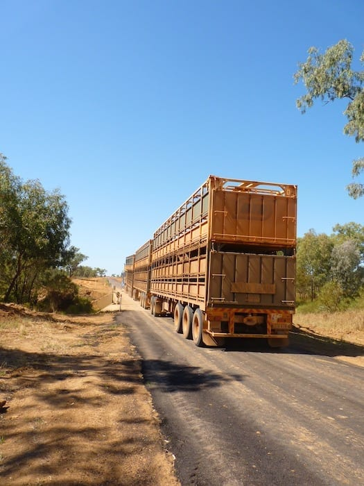 Road Train Remote Camping Welford National Park