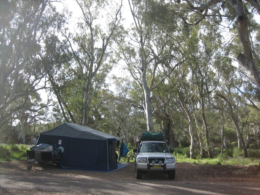 Mambray Creek Campground, Mt Remarkable National Park South Australia