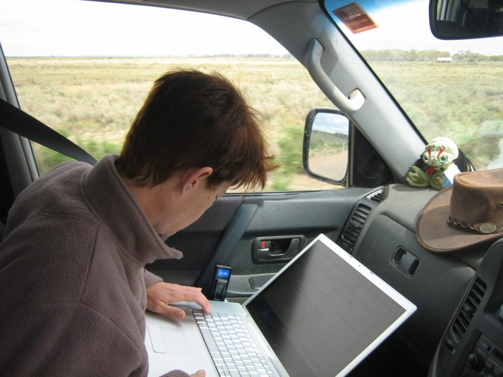 Working On The Road, Spencer Gulf South Australia