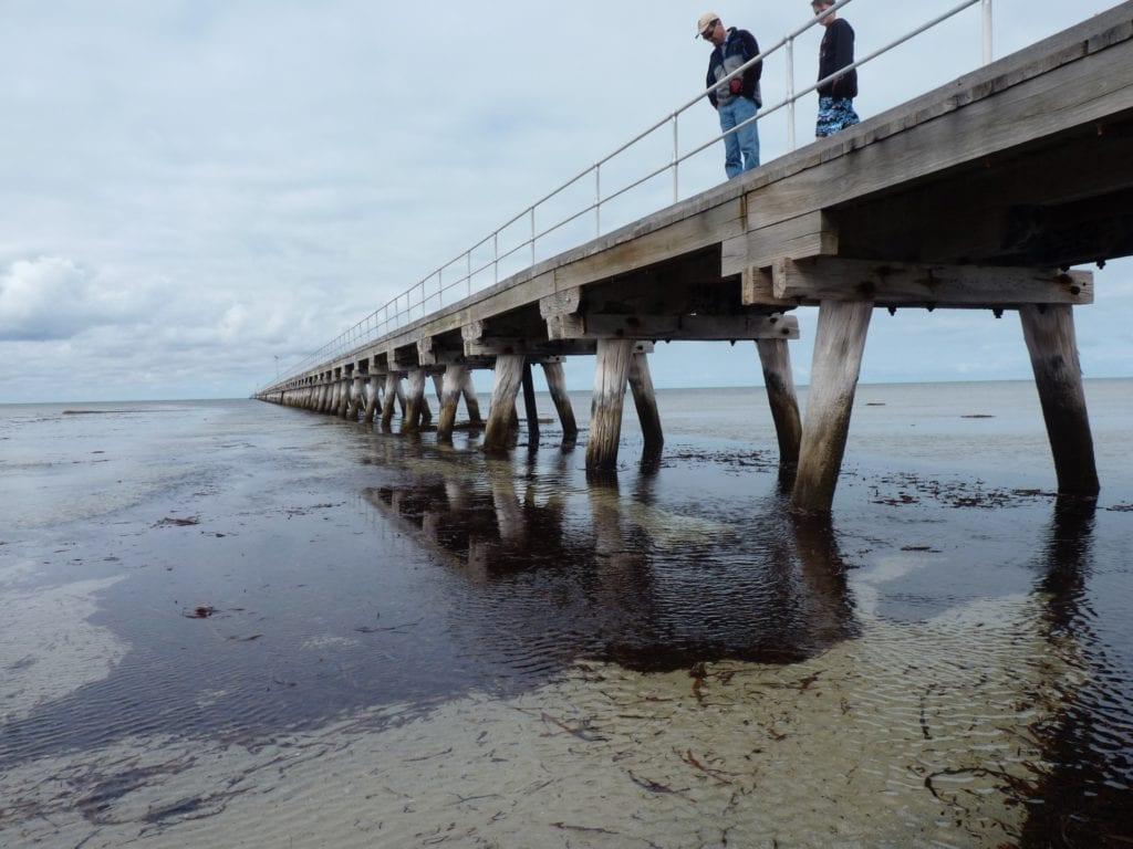 Port Germain Jetty, Spencer Gulf, South Australia