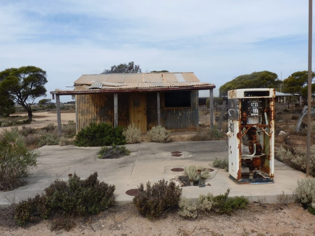 Fuel Pump Koonalda Station Nullarbor Plain