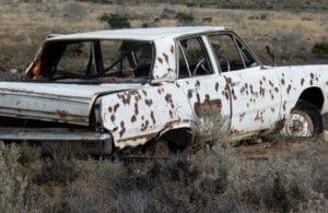 Old Cars Koonalda Station Nullarbor Plain