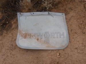 Kenworth Mudflap Koonalda Station Nullarbor Plain