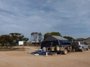 Old Camping at Koonalda Station Nullarbor Plain