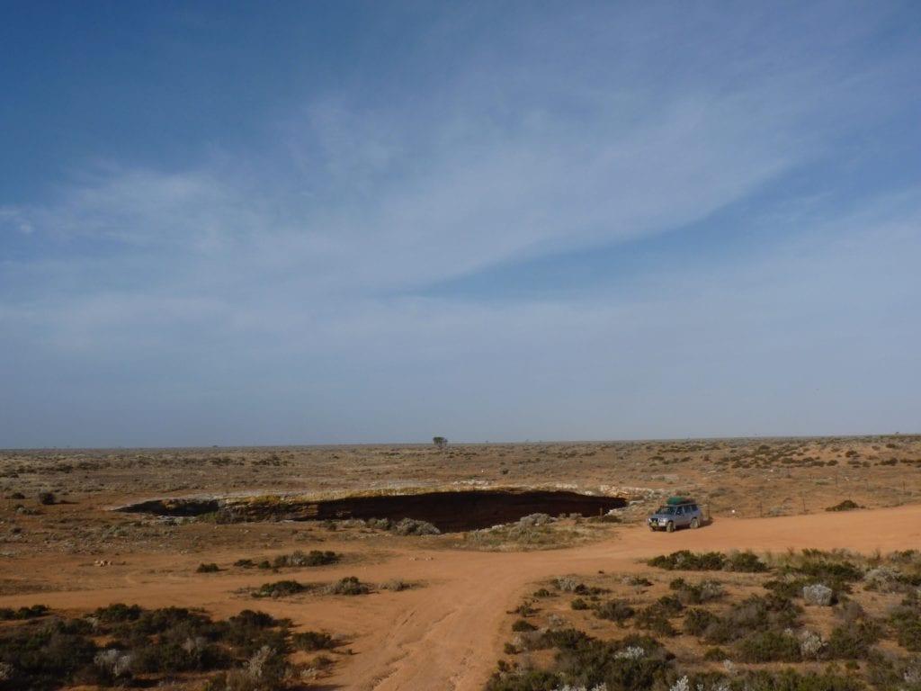 Koonalda Cave Nullarbor Plain
