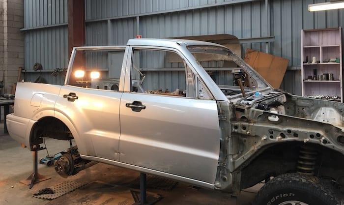 Metal Artwork - Building A Race Car