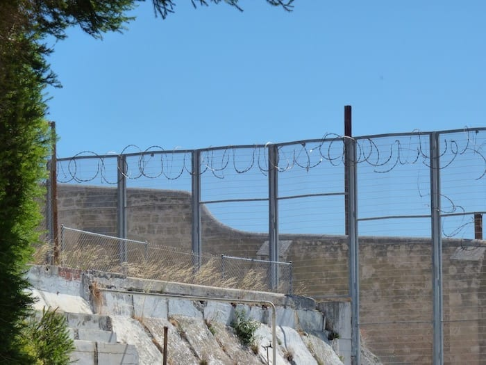Barbed Wire Fences, Fremantle Prison