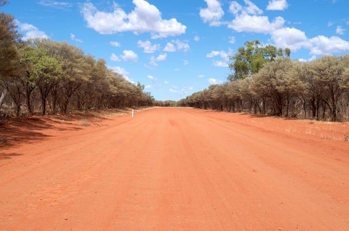 En Route to Currawinya NP Camping Paroo River