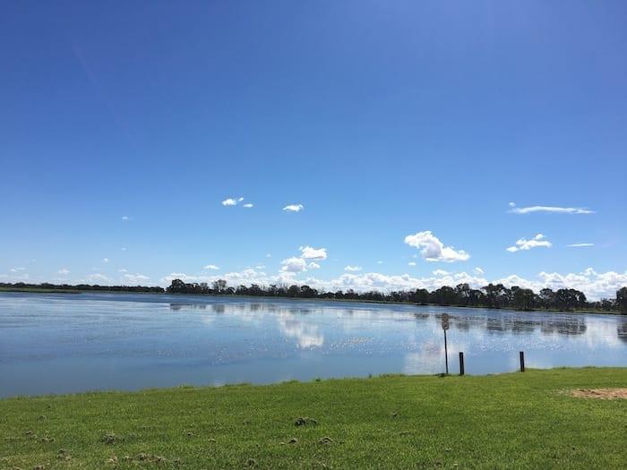 Gum Bend Lake Condobolin NSW