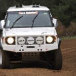 David Glazier's Pajero Race Vehicle