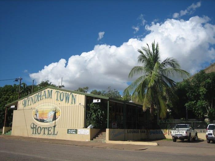 The local pub. Wyndham Western Australia.