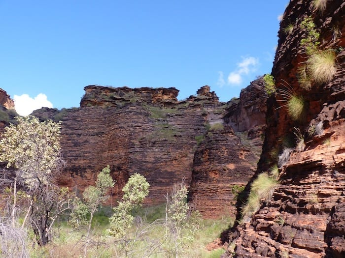 Mirima National Park, Kununurra bears a striking resemblance to the Bungle Bungles.