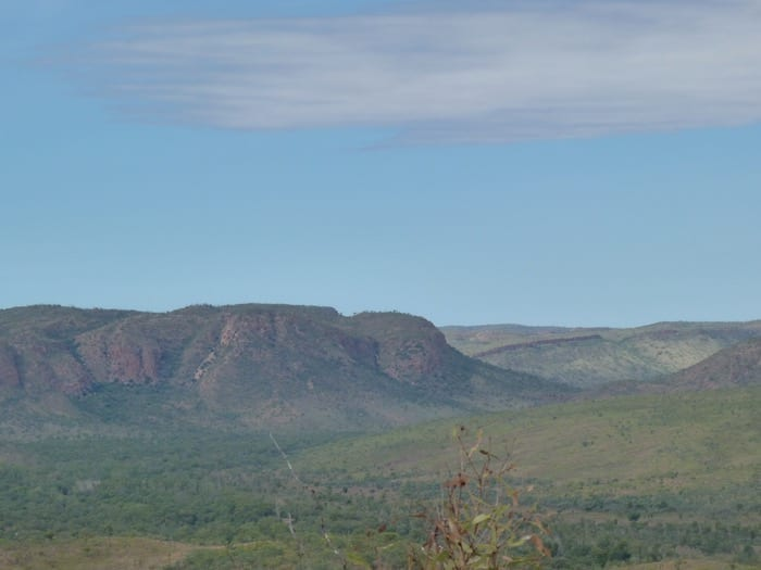 View from Station Lookout, El Questro Station Kimberleys.
