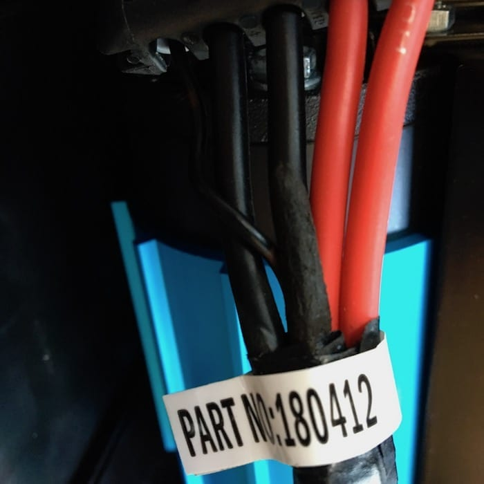 Damage to a cable, supplied new from factory. Review: ARB Compressor.