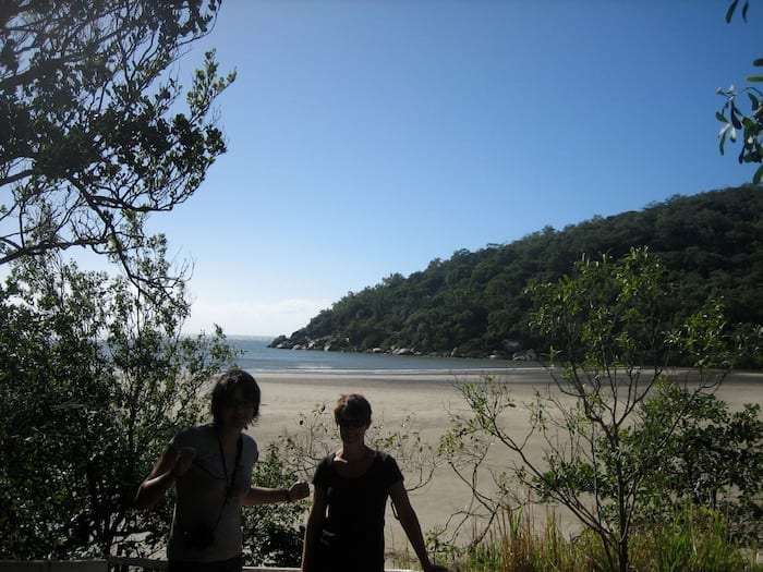 Sand, surf... and crocodiles.Finch's Bay, Cooktown.