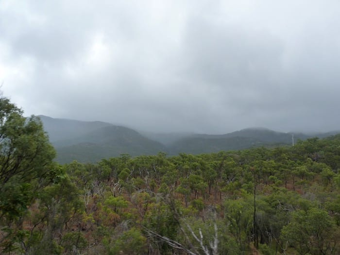 Skirting around the western side of the Daintree National Park en route to Cooktown.