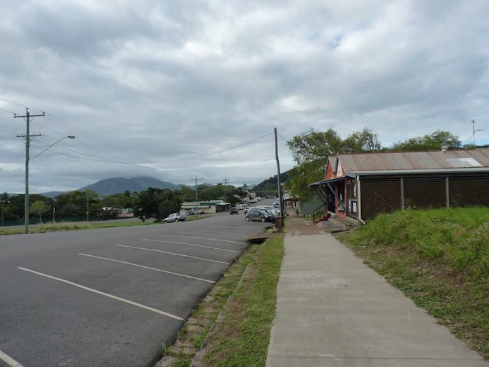 Start of Cooktown's main street looking North.