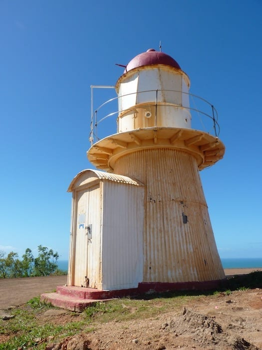 The lighthouse on Grassy Hill. Cooktown.