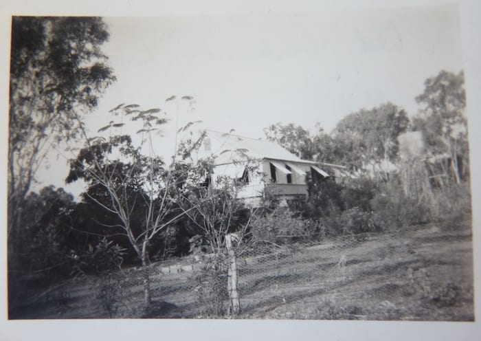 My father took this photo of Mataranka Homestead in 1950.