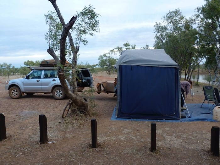 Nowranie Campground at Camooweal Caves National Park