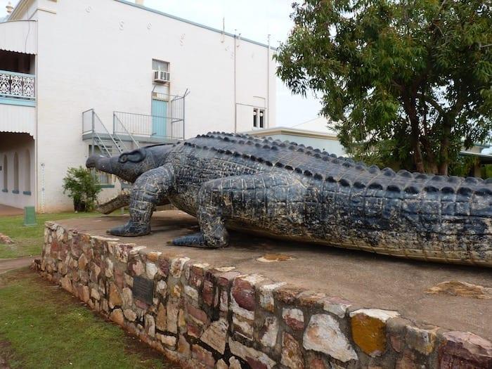 Giant Crocodile, Normanton.