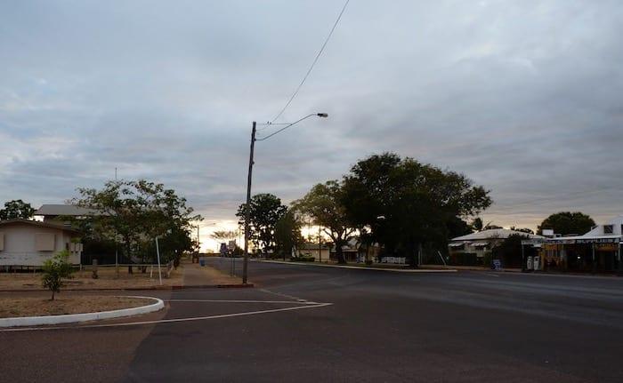 Main Street Of Normanton.