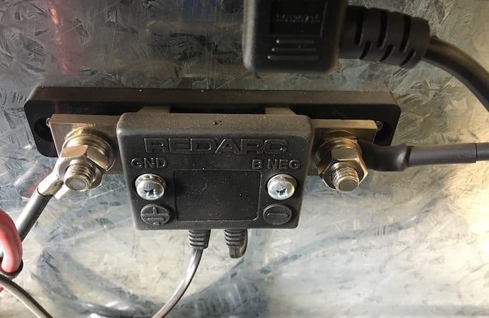 Battery sensor, REDARC Battery Management System.