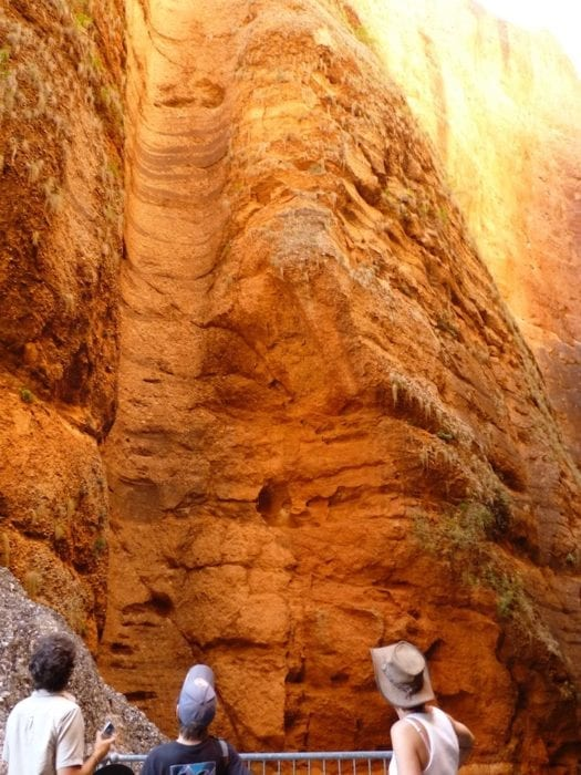 Remnants of a rock hole, Mini Palms Gorge, Purnululu National Park.