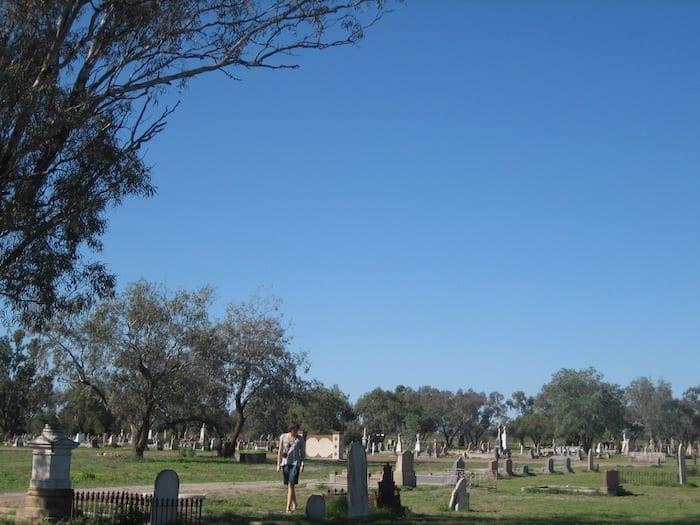 Bourke Cemetery.