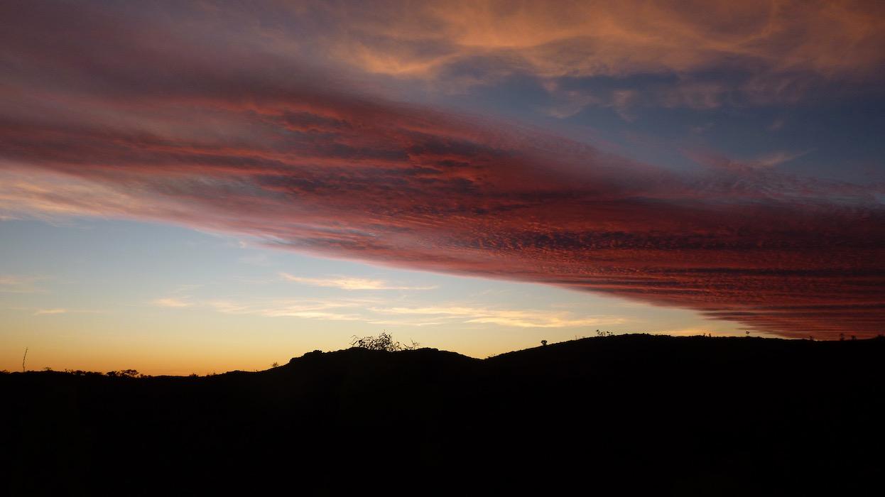 Sunrise, Lake Argyle.