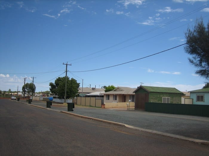The street where my grandmother was born, Kalgoorlie-Boulder.