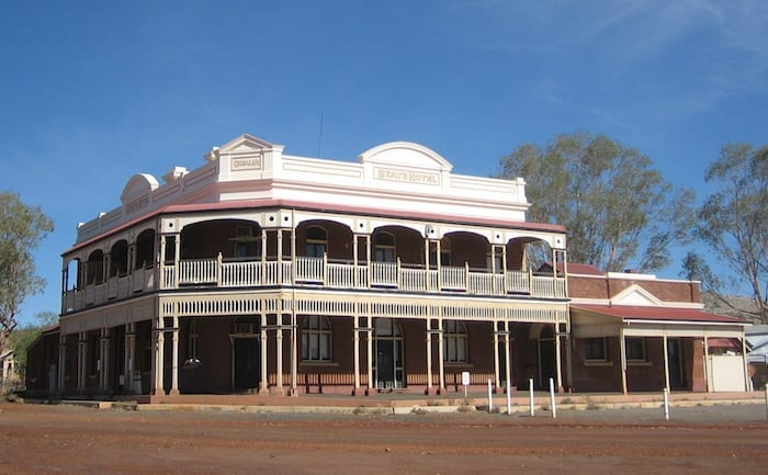 The State Hotel at Gwalia. Golden Quest Discovery Trail.