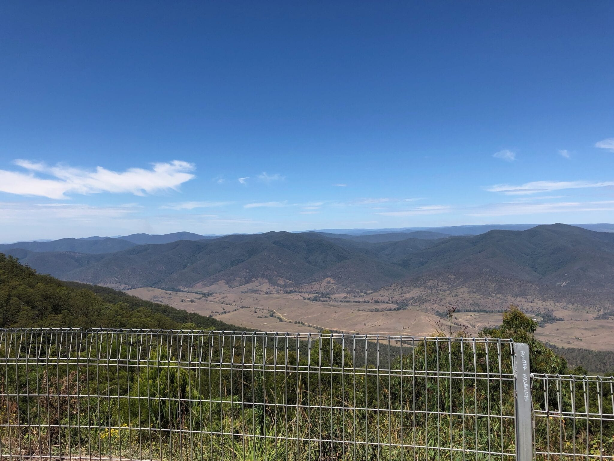 Carson's Memorial Lookout, en route to Walcha