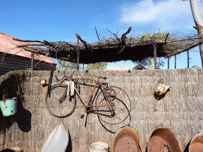 Memorabilia at Gwalia. Golden Quest Discovery Trail.