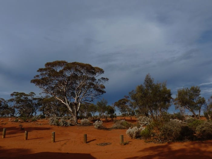 Campsite at Rowles Lagoon. Golden Quest Discovery Trail.