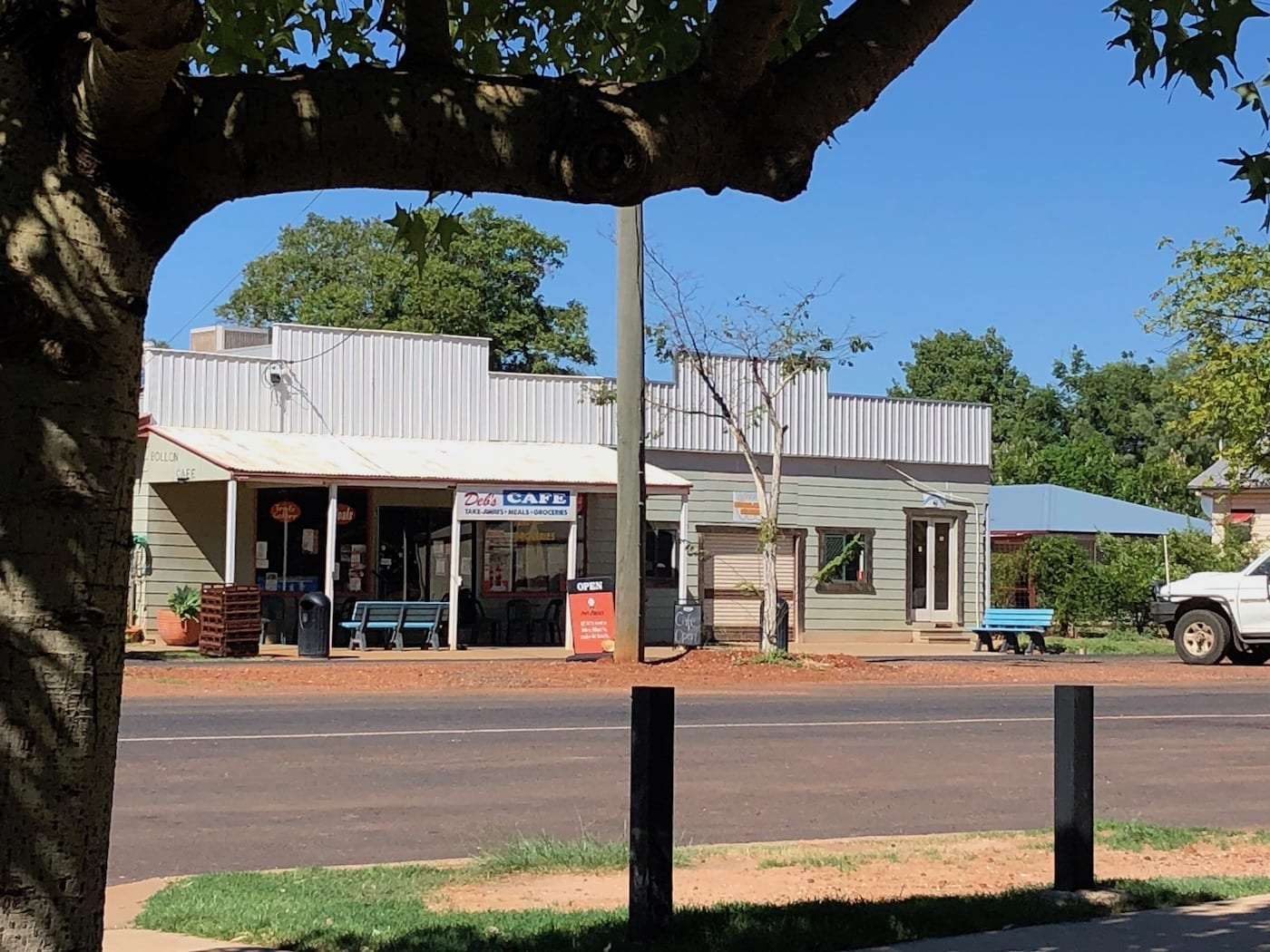 Debs Cafe at Bollon QLD.