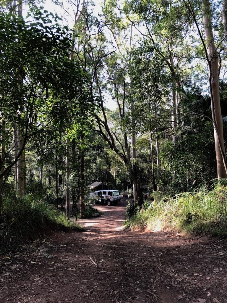 Gap Creek Campground, Watagans National Park.