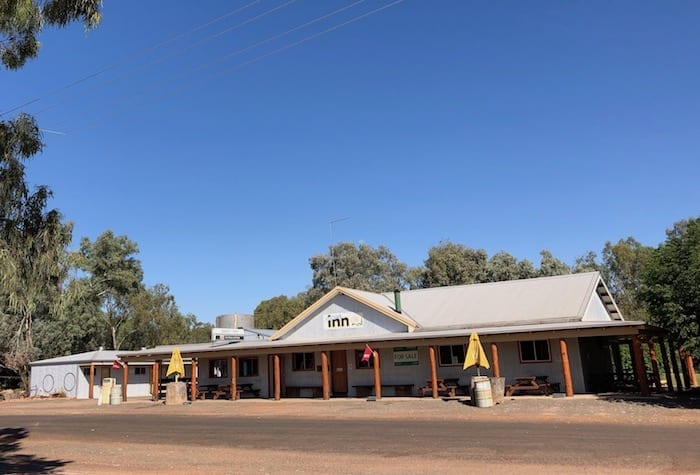 Shindys Inn on the Darling River, Louth Western NSW.