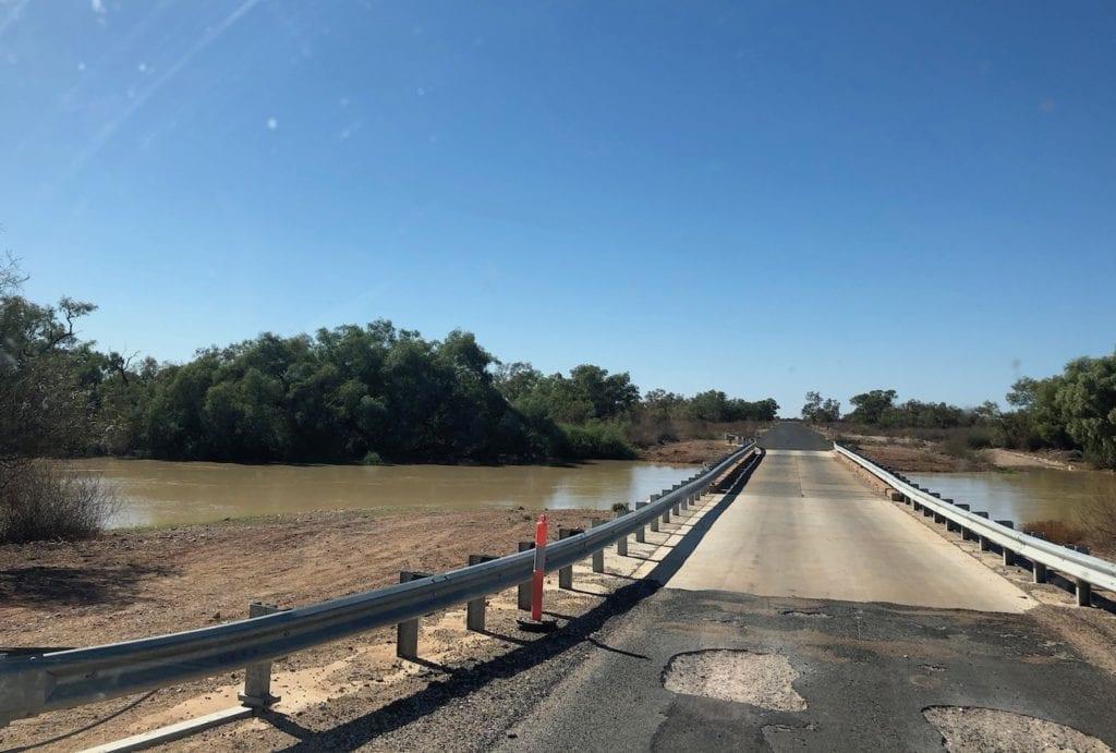 Cooper Creek floodplain west of Nockatunga.