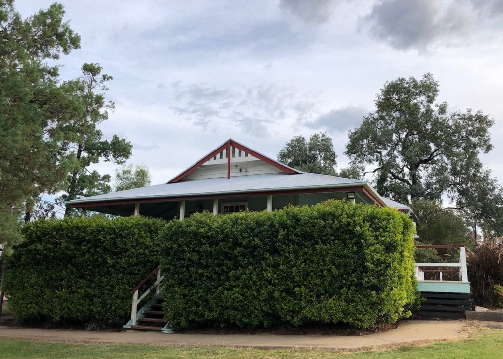 Once the Courthouse, now a Heritage Centre. Cracow QLD.