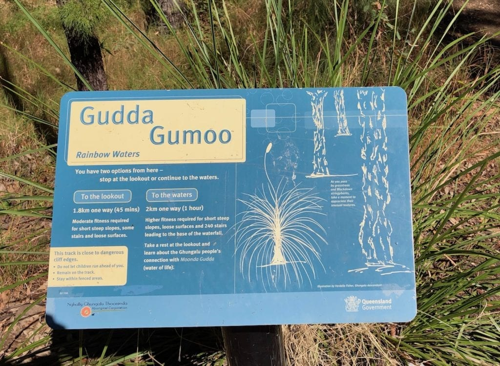 Gudda Gumoo walk. Walks In Blackdown Tableland NP.